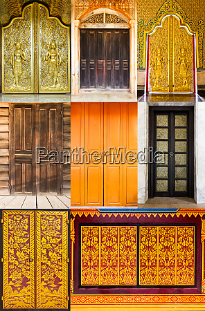 door in thailand