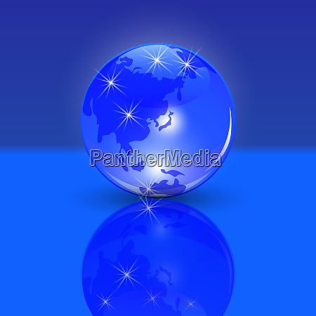 blue planet earth the land of