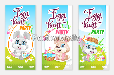 egg hunt party tickets free flyers