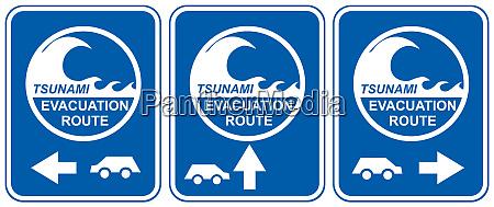 tsunami evacuation vehicles