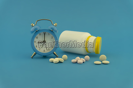 medication and healthcare concept