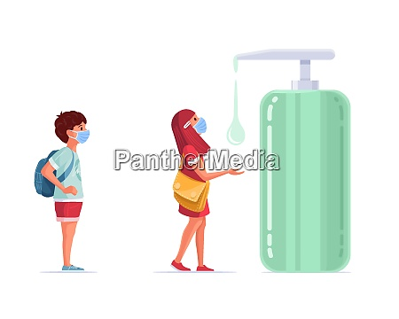 children in pandemic times