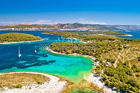 pakleni otoci sailing destination arcipelago aerial