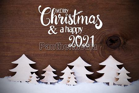 white christmas trees snow merry christmas