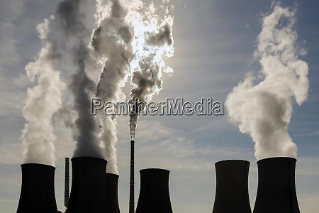 coal power plant exhalation