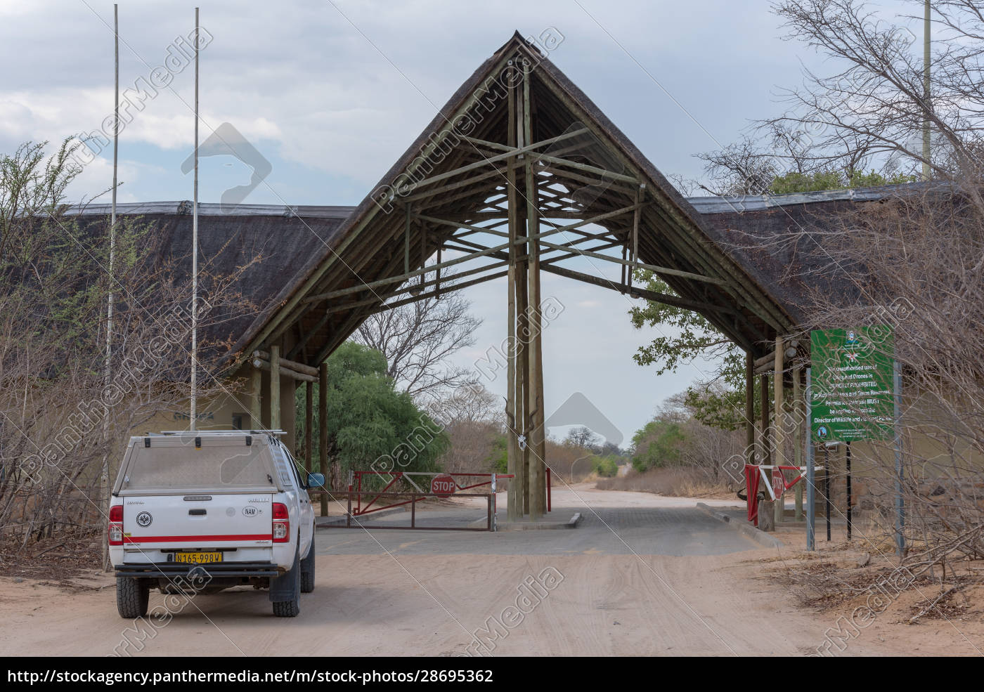 the, ghoha, gate, of, chobe, national - 28695362