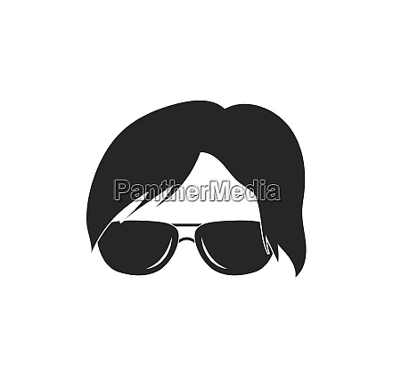 man hairstyle element icon vector illustration