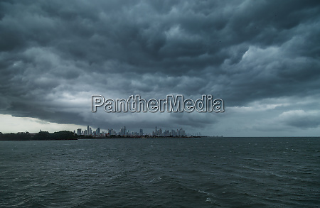 panama city under storm