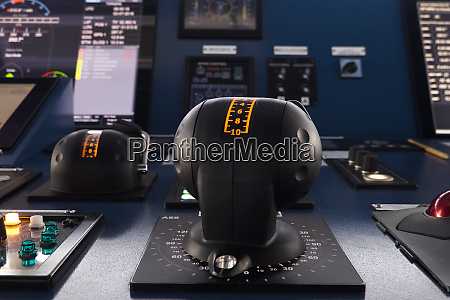 ship control panel navigational devices and
