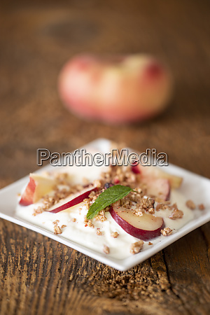 peach yoghurt