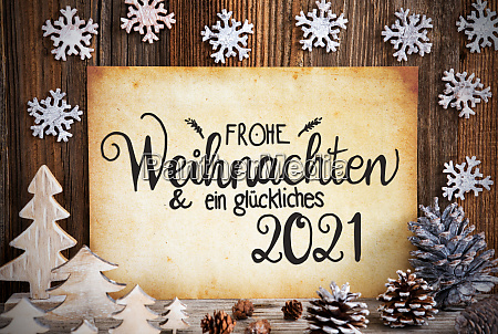 old paper christmas decoration glueckliches 2021