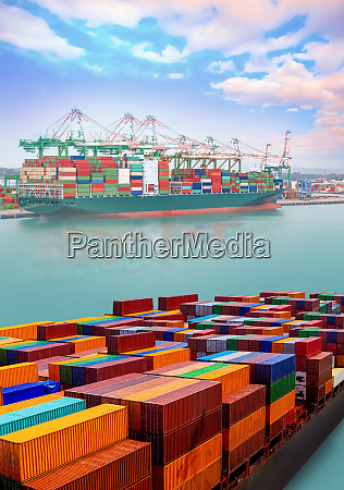 logistics and transportation of international container