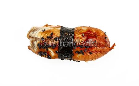close up one nigiri sushi with