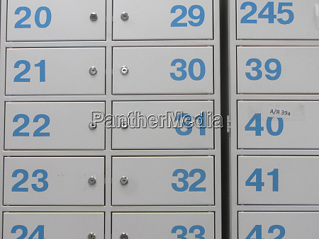 safe deposit box or safe deposit