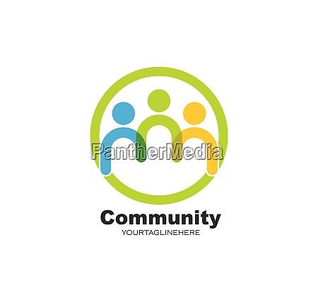 leadership community social and company logo