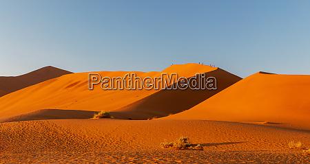 arid dry landscape hidden vlei in