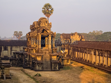 one of the libraries of angkor