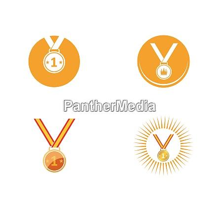 medal icon vector illustration design