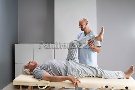 doctor doing check