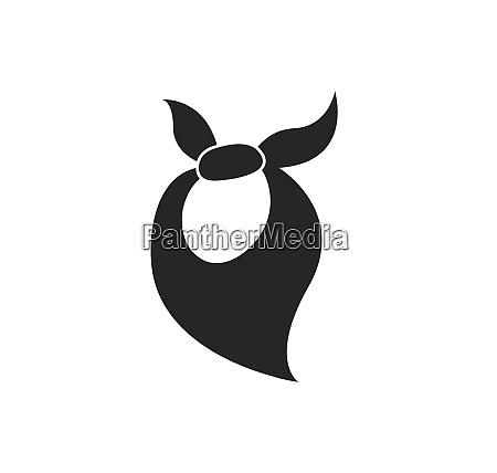 cowboy accessory illustration vector design