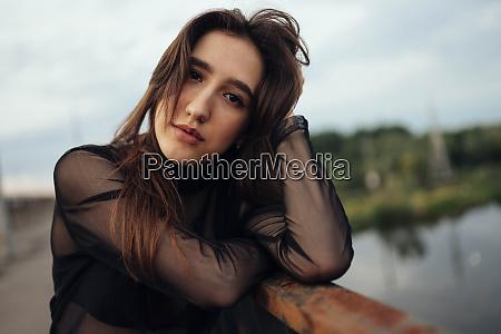 belarus brest portrait of young woman