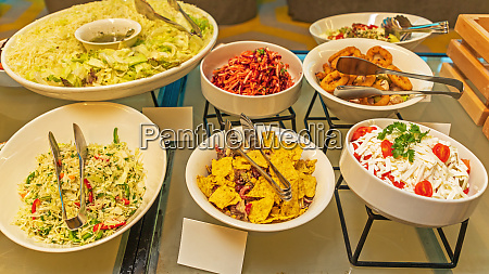 salads party food