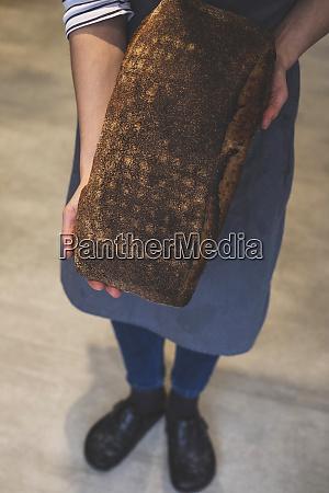 artisan bakery making special sourdough bread