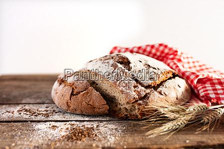 fresh sliced crusty bread