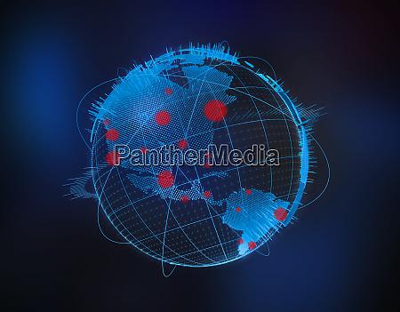 global coronavirus pandemic outbreak