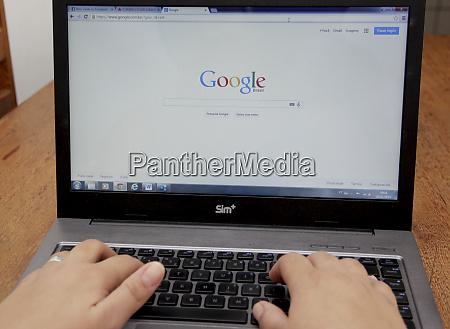 access to facebook via laptop