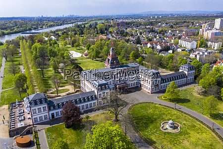 germany, , hesse, , hanau, , helicopter, view, of - 28740937