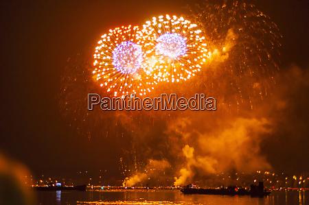 germany baden wurttemberg konstanz fireworks display