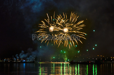 germany baden wurttemberg konstanz fireworks display