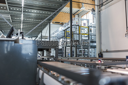 production line in modern factory