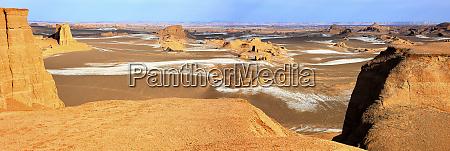 iran panorama of lut desert