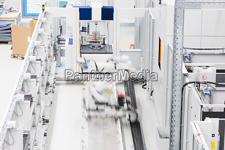 machinery in a factory