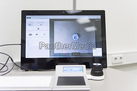 close up of a desktop pc