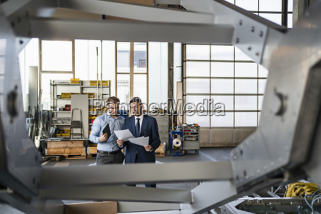 two, businessmen, having, a, meeting, in - 28745097
