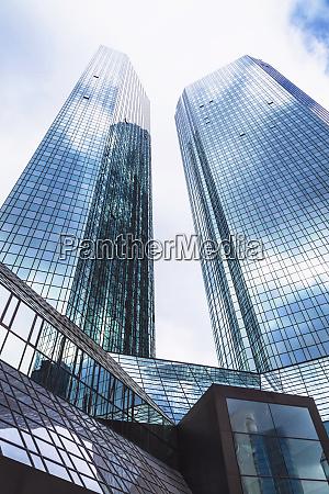 germany frankfurt skyscrapers