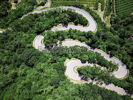 italy veneto verona aerial view of