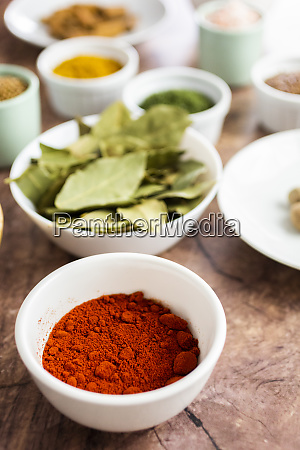 paprika powder and spices