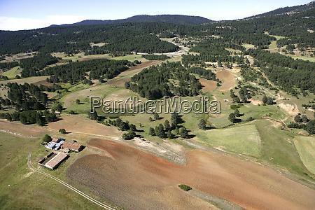 spain province of guadalajara aerial view