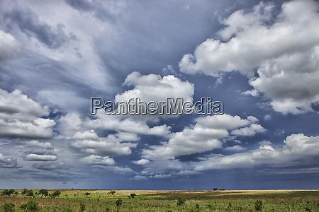 democratic republic of congo white clouds