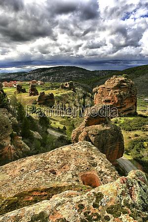 spain province of guadalajara chequilla scenic