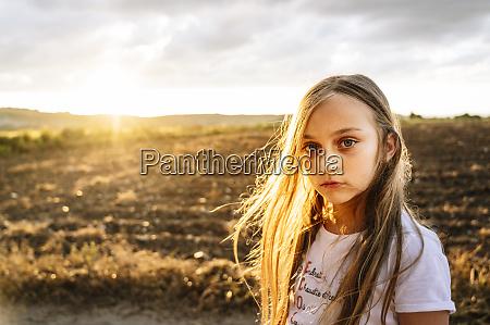 cute girl with long blond hair