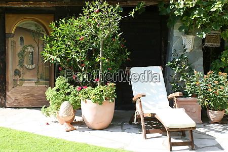 cozy seat in the garden