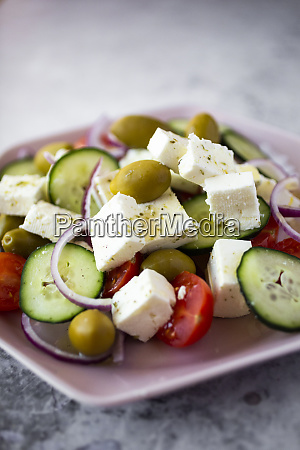bowl of ready to eat greek