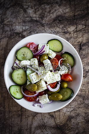 bowl, of, ready-to-eat, greek, salad - 28750830