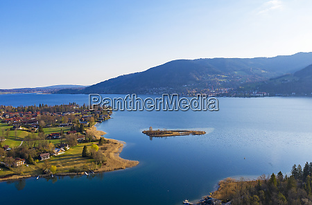 germany, , bavaria, , drone, view, of, tegernsee - 28752787