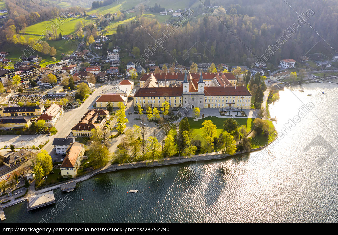 germany, , bavaria, , tegernsee, , drone, view, of tegernsee - 28752790